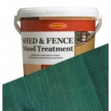 Protek Shed & Fence - Dark Green (5 litre)
