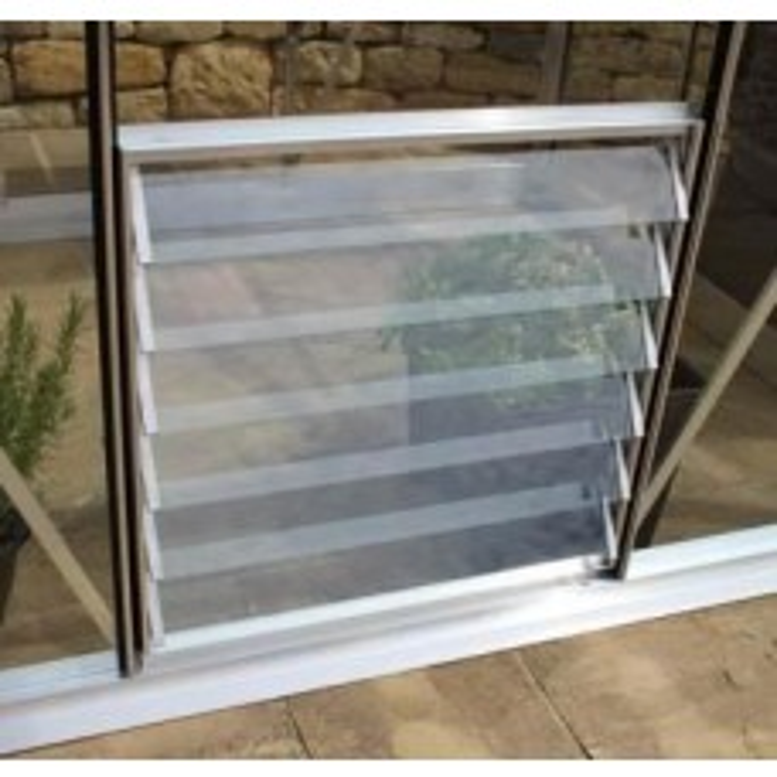 Aluminium Louvre Window 6 blade