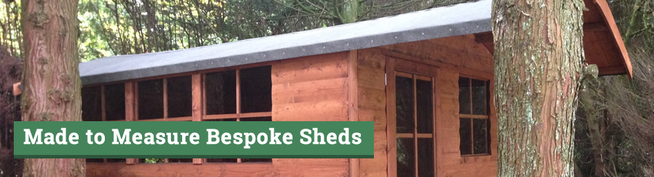 Made To Measure Bespoke Sheds