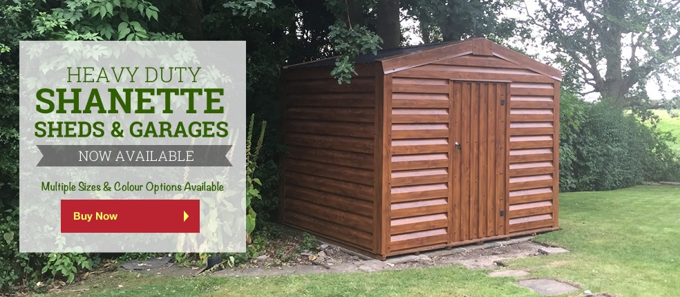 Heavy Duty Shanette Sheds & Garages